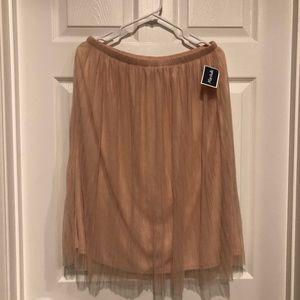 Bobeau Sheer Skirt